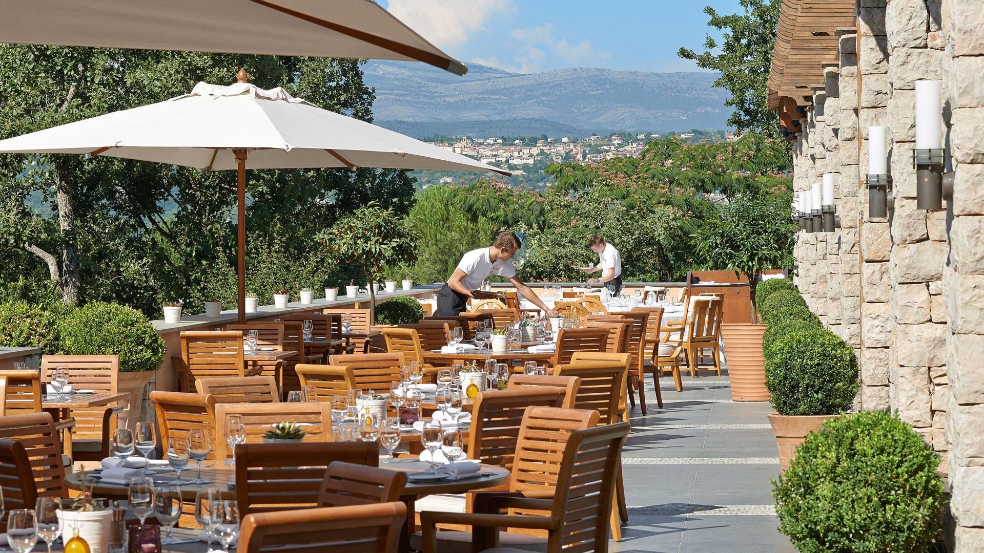 Dîner 7 plats au restaurant étoilé Le Faventia